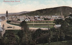 PEEBLES, Peebleshire, Scotland, United Kingdom, PU-1908; View From The South