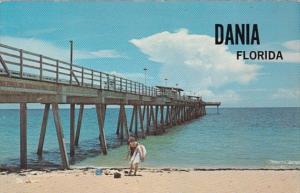 Florida Dania Fishing Pier 1973