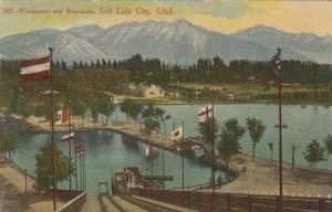 SALT LAKE CITY, Utah, 00-10s; Wandamere and Mountains