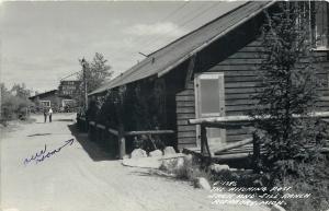 Rothbury MI~Hitching Post~Our Room @ The Jack $ Jill Ranch~1950 RPPC