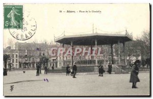 Old Postcard Beziers Square Citadel