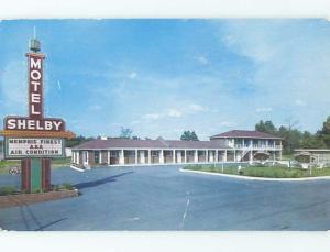 1950's SHELBY MOTEL Memphis Tennessee TN ho4697