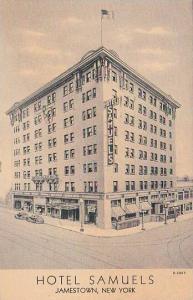 New York Jamestown Hotel Samuels 1946