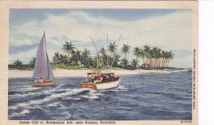 NASSAU , Bahamas , 30-40s; Sandy Cay [Honeymoon Isle]