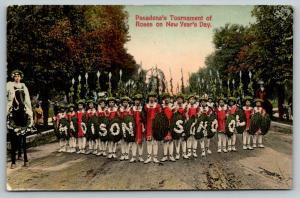 Pasadena CA~Tournament of Roses Parade~Madison School~Gladiator Kids~1910