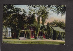 ME Bangs Estate College Ave Waterville Maine Postcard 1910 PC