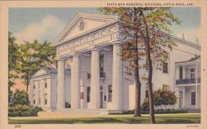 State War Memorial Building Little Rock Arkansas