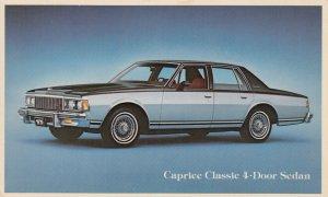 Cheverolet Caprice Classic 4-Door Sedan, 1960-80s
