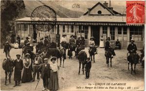 CPA CIRQUE de GAVARNIE Salle a Manger de l'Hotel du Pont de Neige (414874)