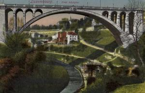 CPA Luxembourg, Pont Adolphe (30587)