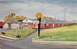 Roosevelt Motor Lodge Waterville ME 1965
