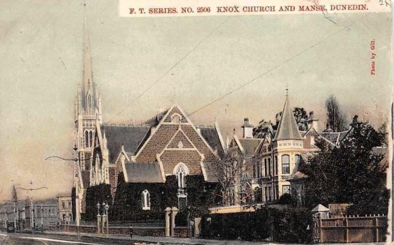 New Zealand Knox Church and Manse, Dunedin