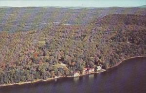 New Hampshire Spofford Aerial VIew Camp NOtre Dame On Lake Spofford