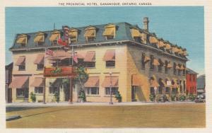GANANOQUE , Ontario , Canada , 1958 ; Provincial Hotel