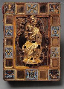Koeln Schnutgen Museum Buchdeckel eines Evangeliars Koeln