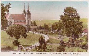 RP: MIDLAND , Ontario , Canada , Martyr's Shrine & Indian Village, 20-40s