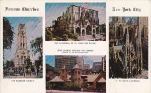 Famous Churches New York City 1955