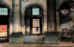 Louisiana New Orleans St Louis Hotel Slave Block Curteich