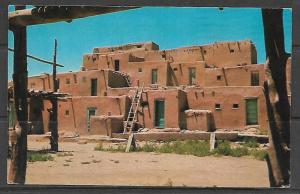 Native American Taos Pueblo - [MX-094]