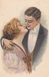 Art Deco Romance Couple , 10-20s #2 , Artist MARCO