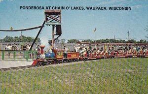Miniature Train Ponderosa At Chain O'Lakes Waupaca Wisconsin