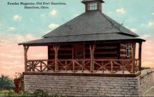 Ohio Hamilton Powder Magazine Old Fort Hamilton 1911