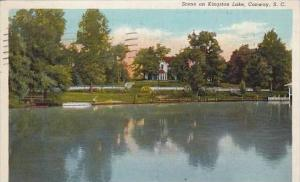 South Carolina Conway Scene On Kingston Lake 1913