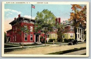 Ogdensburg New York~Elks Club~Century Club (Suffrage Convention Held 1915)~1920s