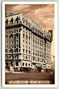 Postcard c1938 Hotel Astor Times Square NY A9