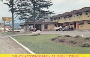 KELOWNA, B.C., Canada, 1940-1960s ; Western budget Motel