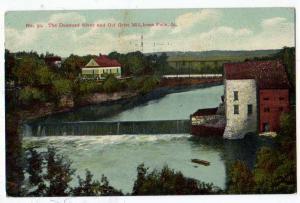 Dammed River & Old Grist Mill, Iowa Falls IA