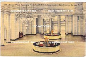 Hall of Springs, Saratoga Springs NY