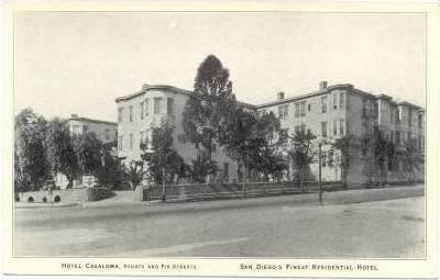 Exterior, Hotel Casaloma, San Diego, CA, 00-10s