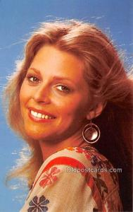 Lindsay Wagner Movie Star Actor Actress Film Star Postcard, Old Vintage Antiq...
