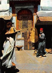 Morocco Marruecos Tipico Antiguo Barrio Moro