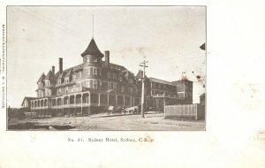 Vintage Postcard 1900's Sydney Hotel Sydney Cape Breton Nova Scotia Canada CAN