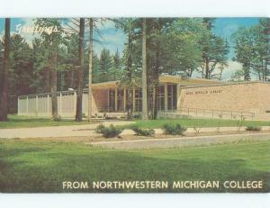 Pre-1980 Northwestern Michigan College - Traverse City Michigan MI E1826