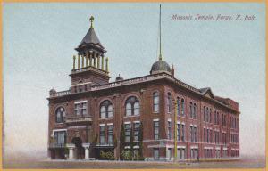 Fargo, N. Dak., Masonic Temple -