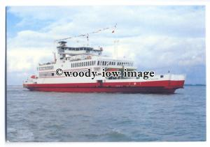 FE1320 - Red Funnel Ferries - Red Falcon , built 1994 - postcard