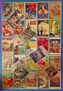 Postcards, Set of 30 NEW Stunning Japanese Repro Travel Posters, Japan 51L