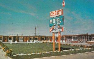 LETHBRIDGE, Alberta, Canada, 1950-60s; Crest Motel