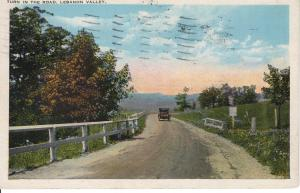 US    PC1932 TURN IN THE ROAD, LEBANON VALLEY