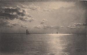 Nels, Brussels Marine Delpft serie early postcard seascape