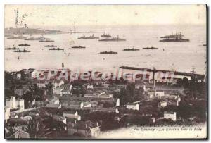 Postcard Old French Riviera Golfe Juan General view The Wings in the Bay