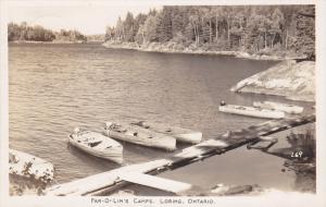 RP: Par-O-Lin's Camps , LORING , Ontario , Canada , PU-1945