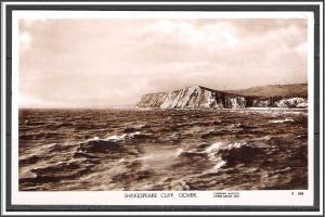 UK Dover  Shakespeare Cliff RPPC - [FG-163]