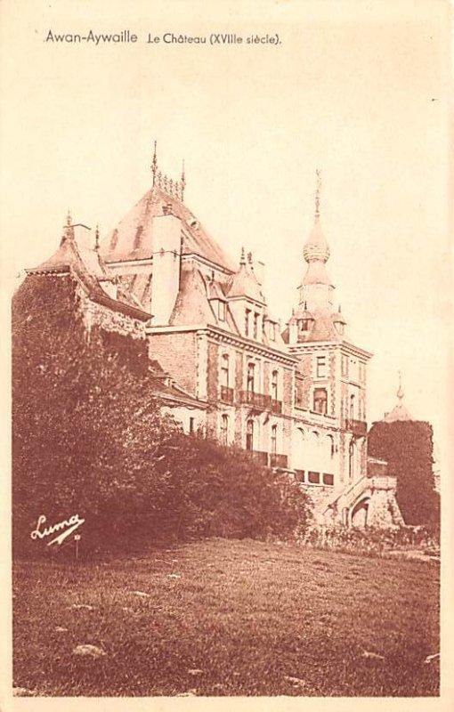 Le Chateau Awan Aywaille Belgium Unused
