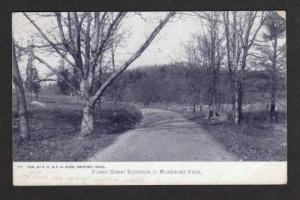 MA Forest Street Entrance to MIDDLESEX FELLS MASS UDB Massachusetts