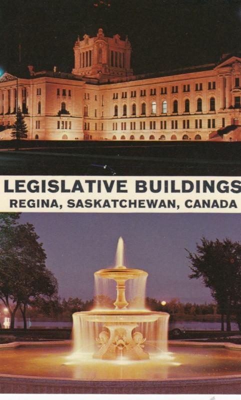REGINA, Saskatchewan, 1950-60s; Legislative Buildings