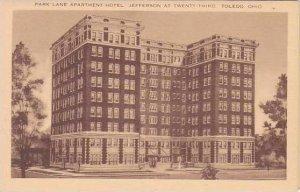 Ohio Toledo Park Lane Apartment Hotel Artvue